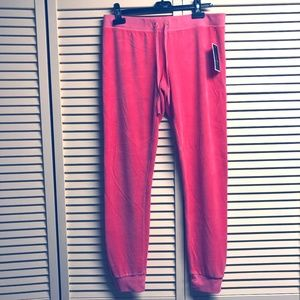 Juicy Couture Pink Ultra Bombshell Track Pants